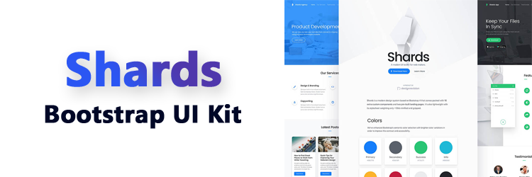 Shards - A Free UI Kit for Bootstrap